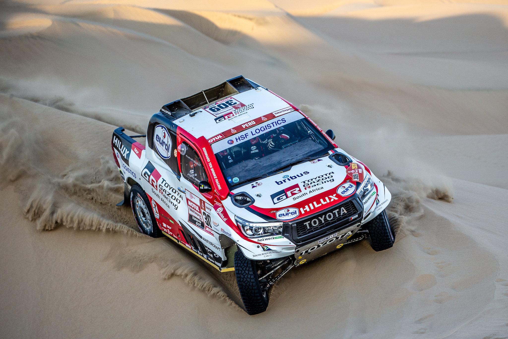 Voor Bernhard ten Brinke begint Dakar 2020 in Qatar