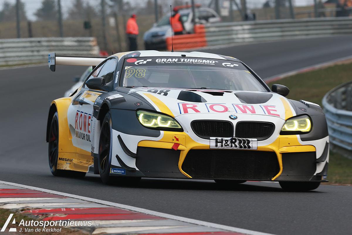 ROWE Racing wint spannende eerste VLN wedstrijd.