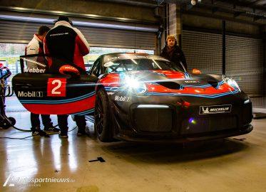 Porsche Carrera Benelux Cup test dag Spa Francorchamps