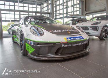 De nieuwe Porsche GT3 van Xavier Maassen