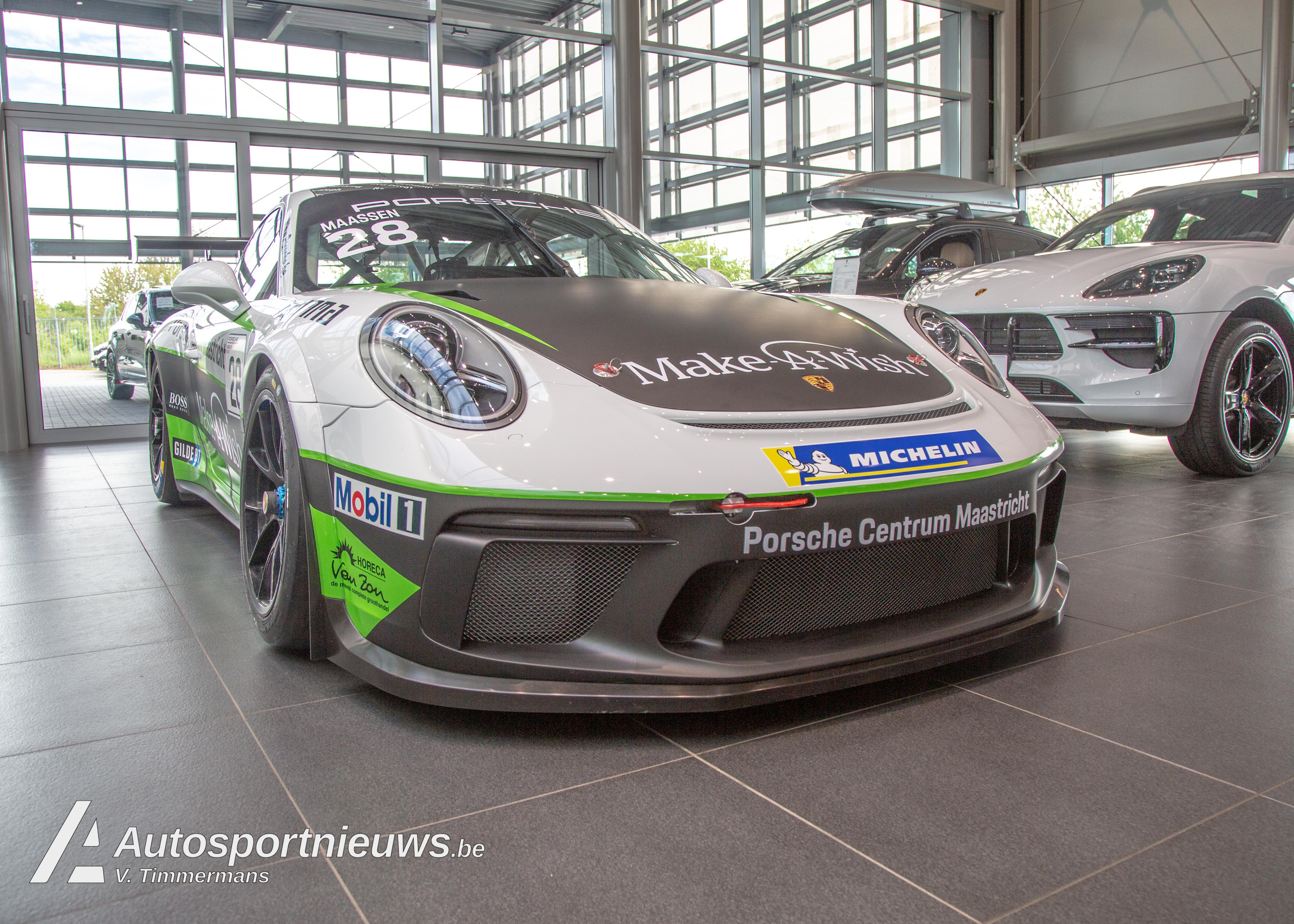 Album: De nieuwe Porsche GT3 van Xavier Maassen