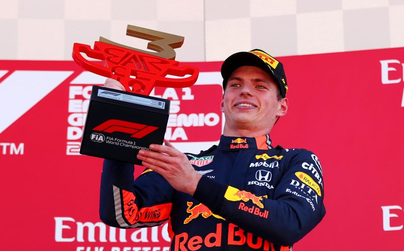 Max Verstappen derde in Grand Prix van Spanje:
