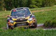 Moreel podium voor Kevin van Deijne in Monteberg Rally