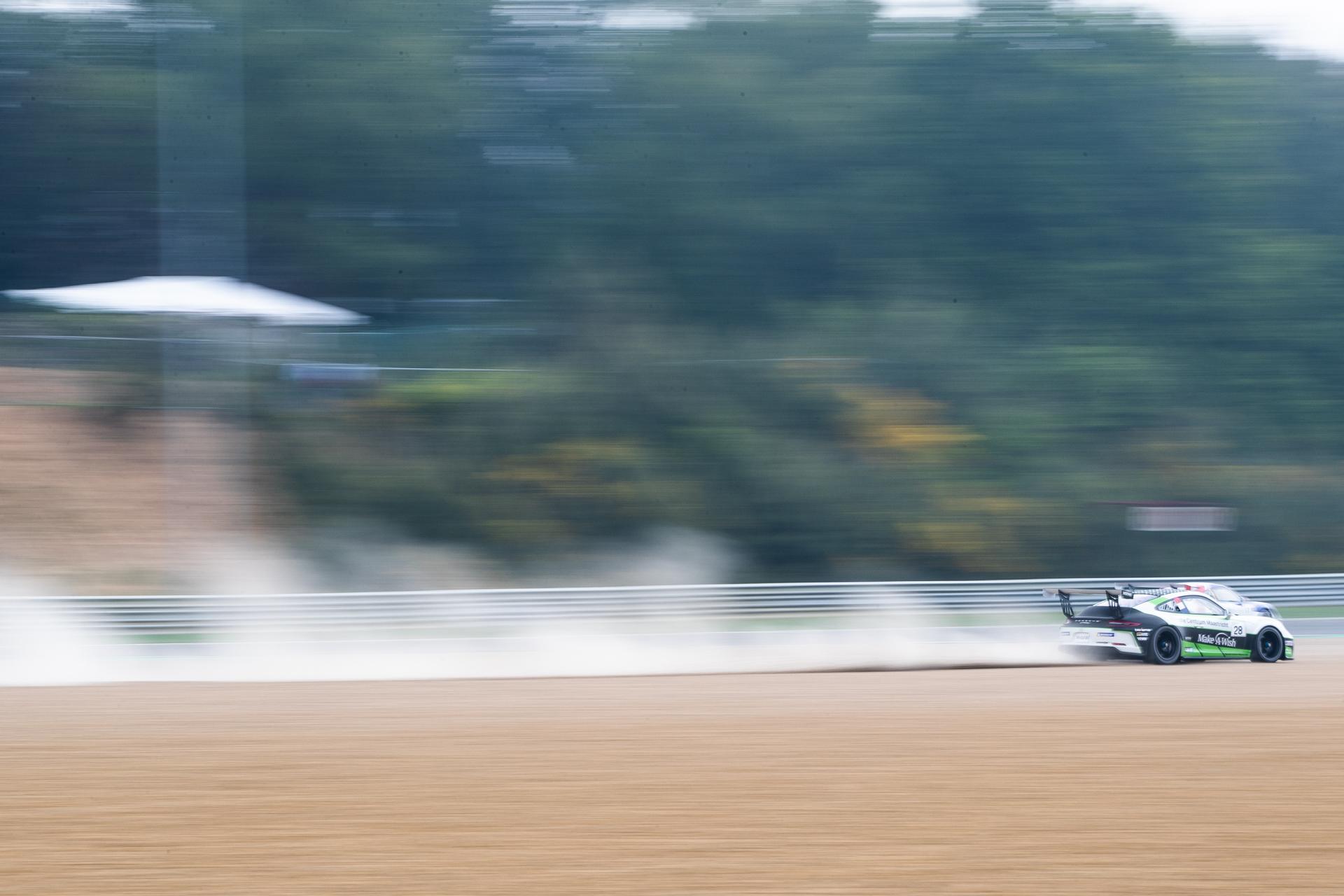 Xavier Maassen scoort podium in Porsche Carrera Cup Benelux op Circuit Zolder