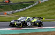 Het Belgian Audi Club Team WRT achtervolgd door de pechduivel in Brands Hatch!