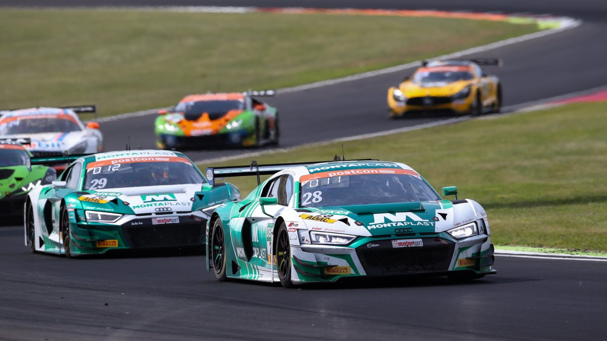 Dries	Vanthoor	scoort	punt	in	ADAC	GT	MASTERS