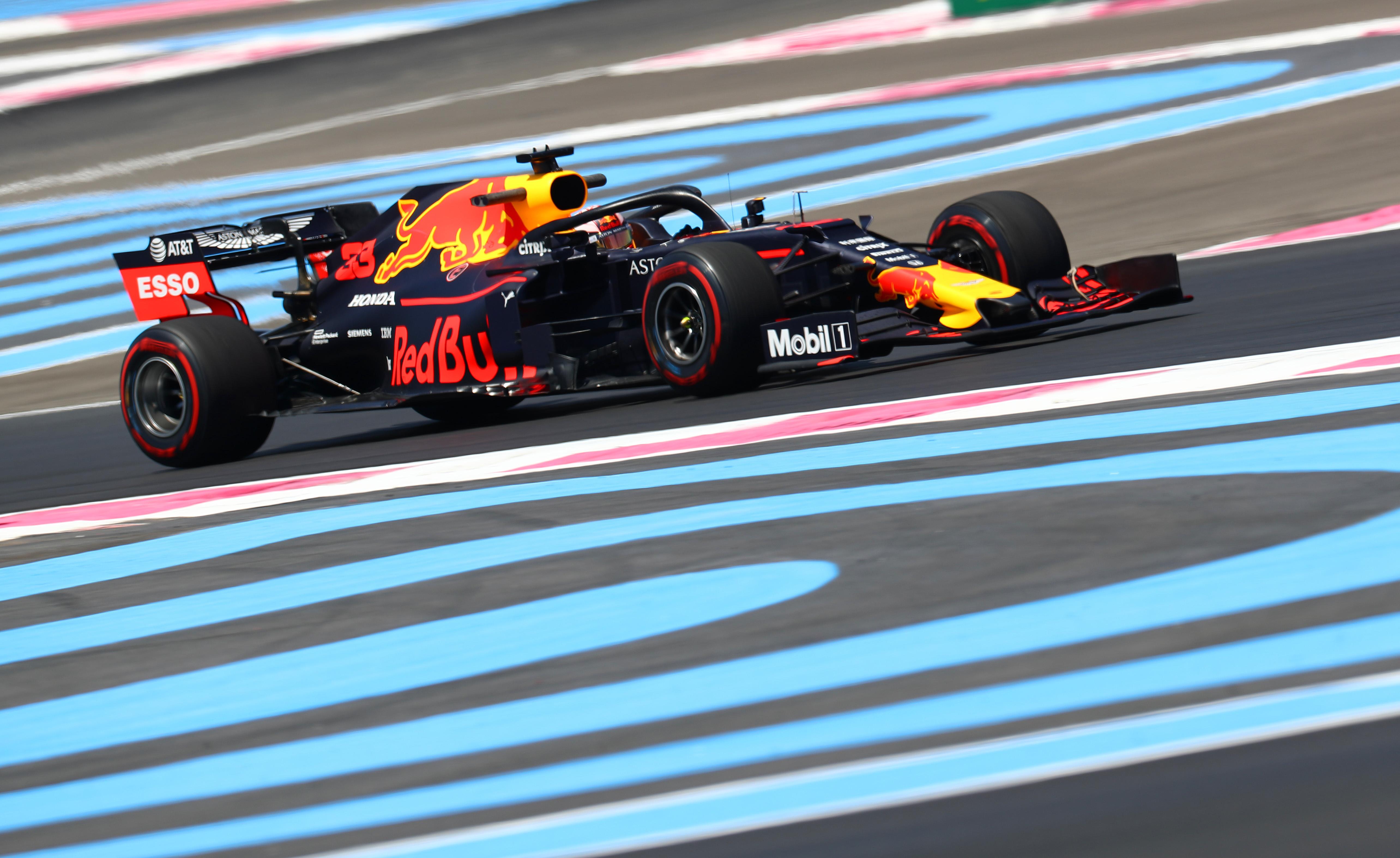 Max Verstappen vierde in Grand Prix van Frankrijk: