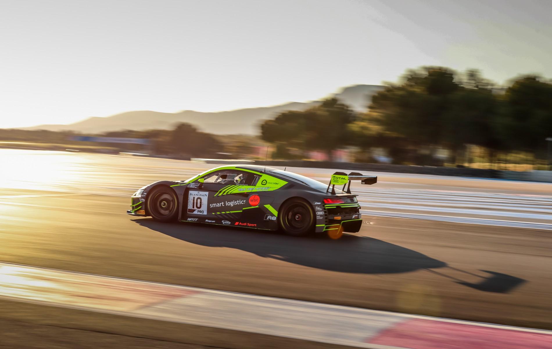 Blancpain GT Series: een wisselvallig weekend met een flinke schrik voor het Belgian Audi Club Team WRT