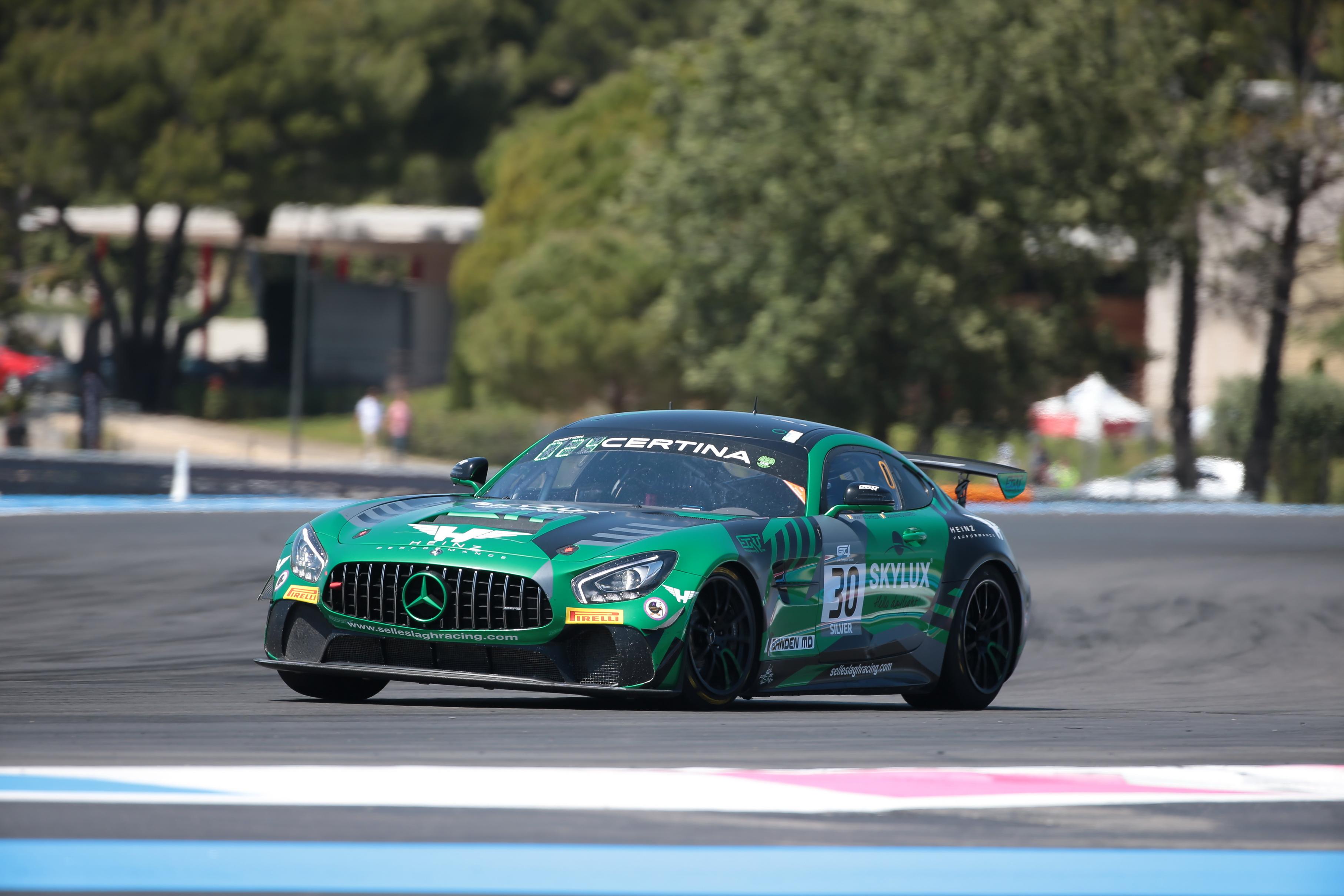 Veelbelovende puntenbuit voor SRT in Paul Ricard