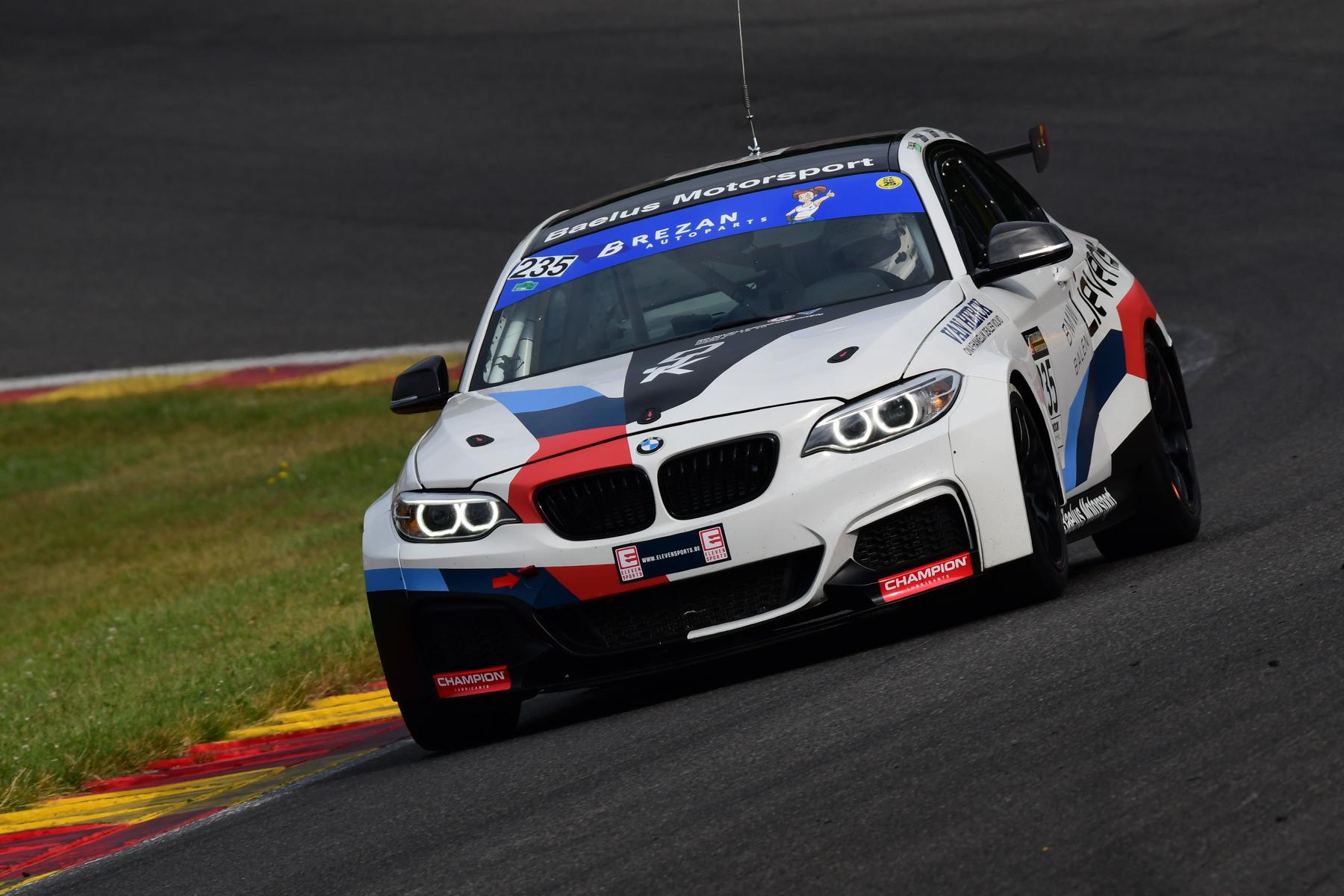 BMS Motorsport pakt nieuwe podiumplaats in Spa met trio