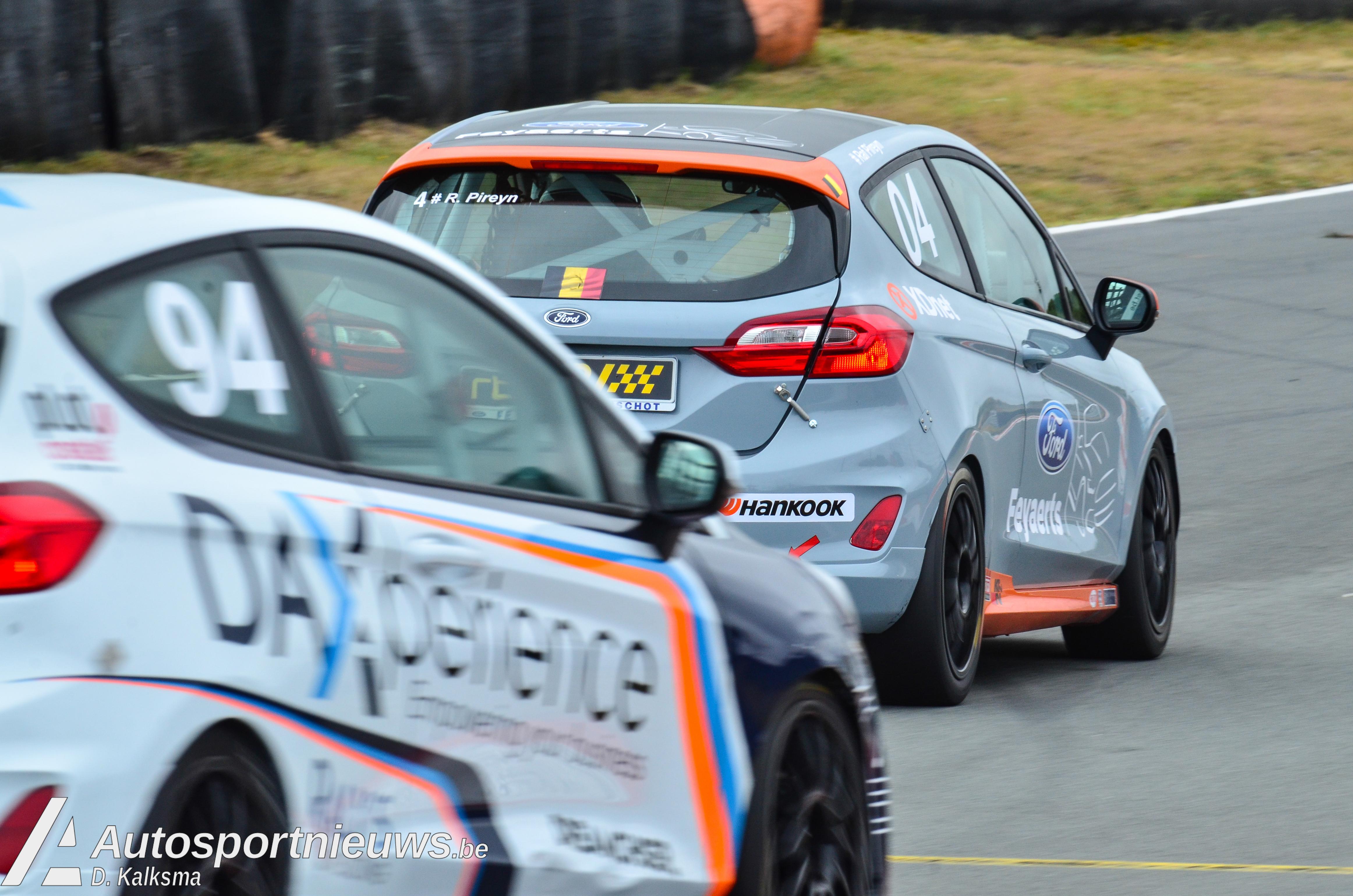 Twee podiumplaatsen voor Bert Longin op Circuit Zandvoort
