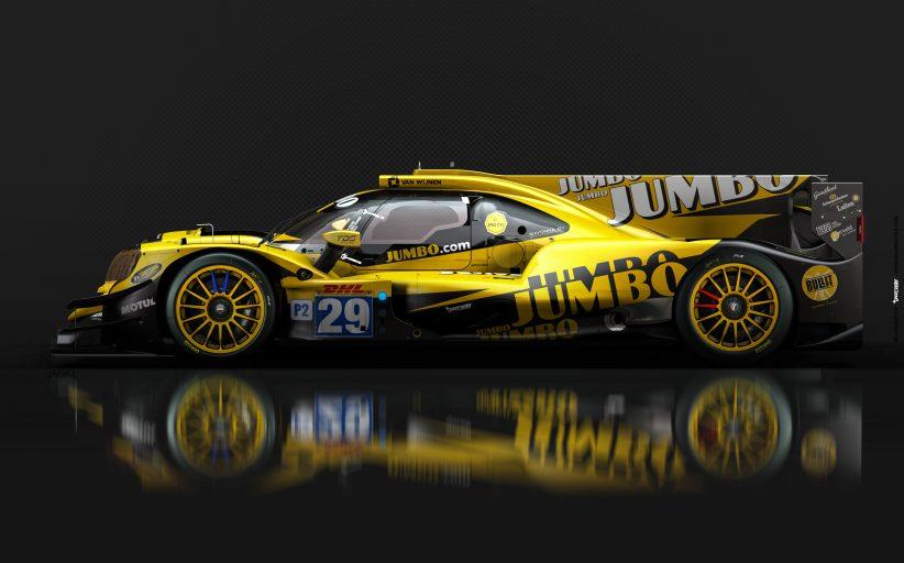 Dit is de nieuwe auto van Racing Team Nederland