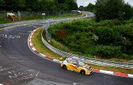 Top 6 klassering voor Tom Coronel tijdens FIA WTCR Races op Nürburgring Nordschleife