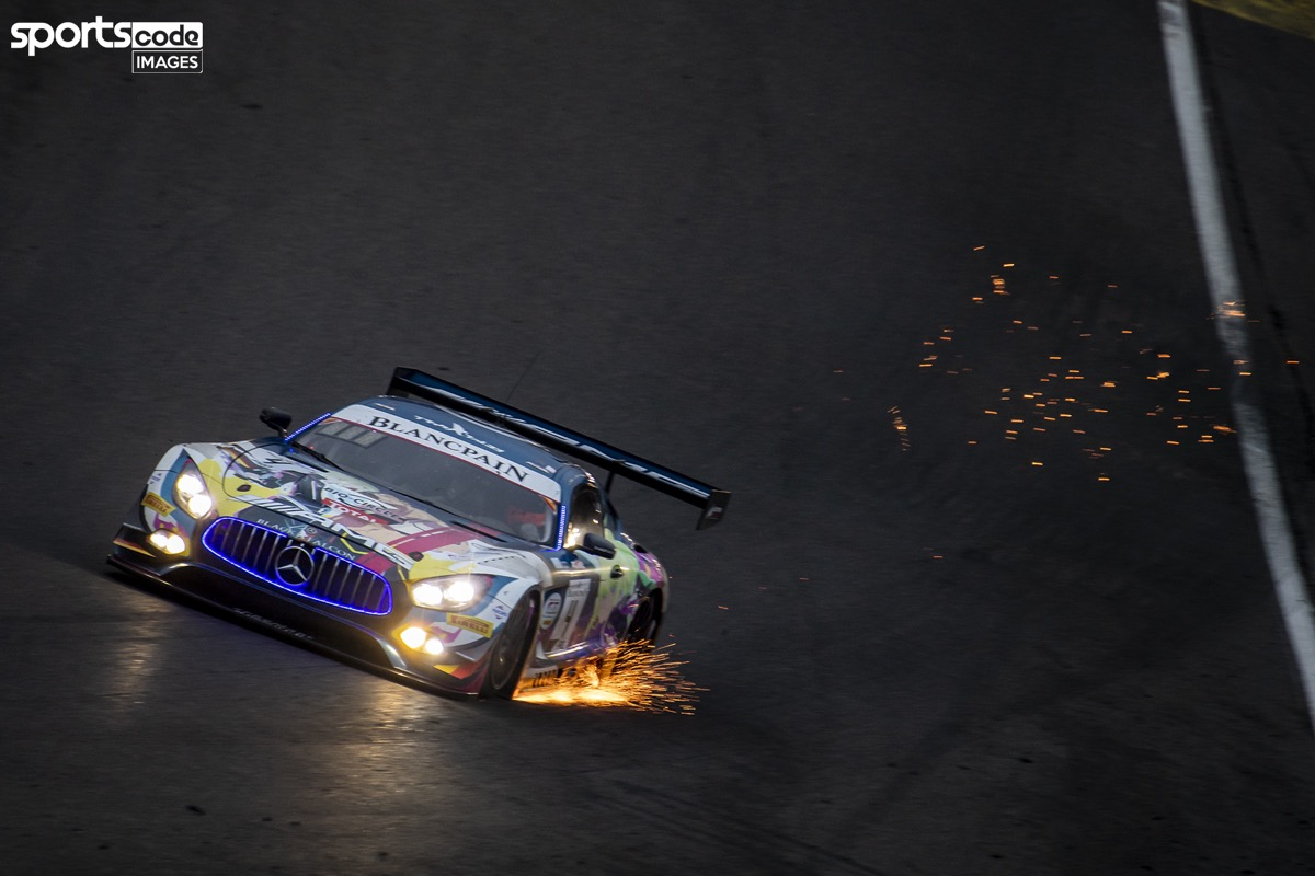 Yelmer op het podium in grootste GT3-race ter wereld