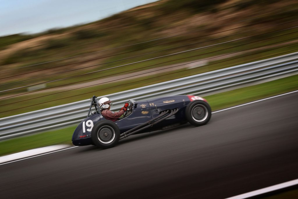 Historic Grand Prix association op volle oorlogssterkte naar de duinen