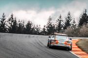 Loek Hartog in actie in Porsche Supercup tijdens F1-weekend op Spa-Francorchamps