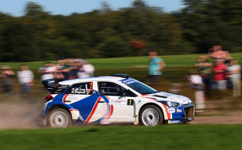 Bob de Jong kijkt terug op succesvol rallyseizoen