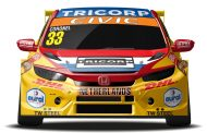 Tom Coronel met Honda Civic Type R namens Nederland deelnemer aan FIA Motorsport Games