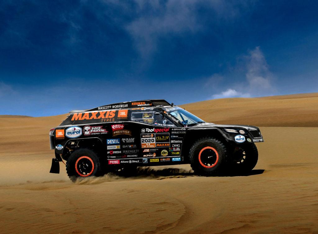 Tim en Tom Coronel presenteren The Beast 3.0 voor Dakar 2020