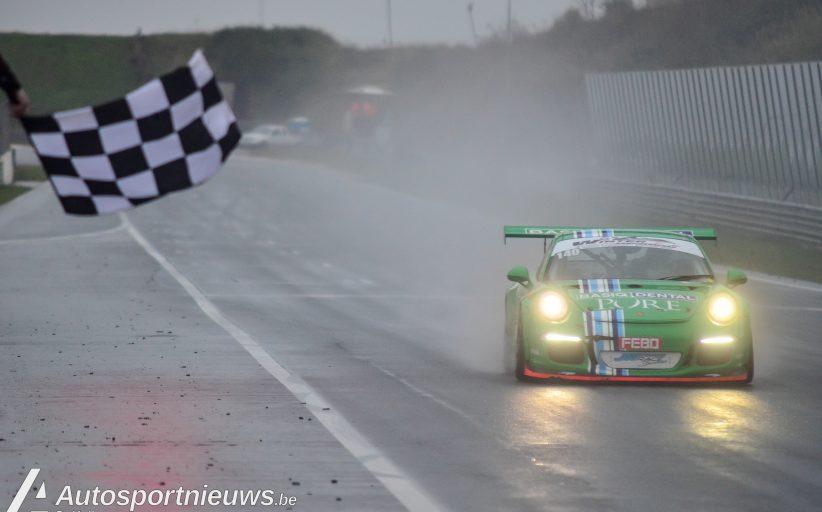 Zege voor de JW Raceservice Porsche bij de Zandvoort 500