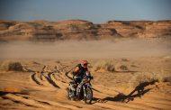 Het is een loizware Dakar maar ik ben er nog!