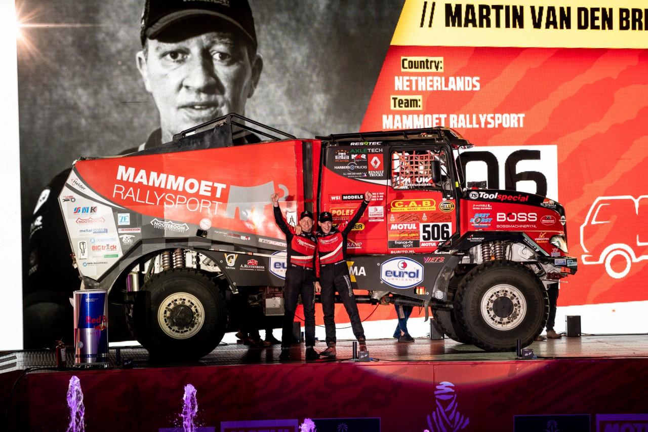 Martin van den Brink meldt zich in top tien