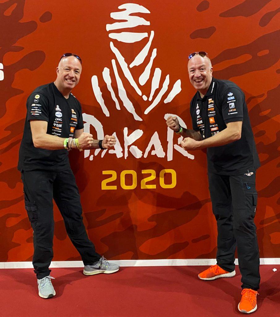 Tim en Tom Coronel klaar voor de start van Dakar 2020