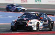AC Motorsport-Audi wint in de regen TCEdivisie bij Hankook 24H DUBAI