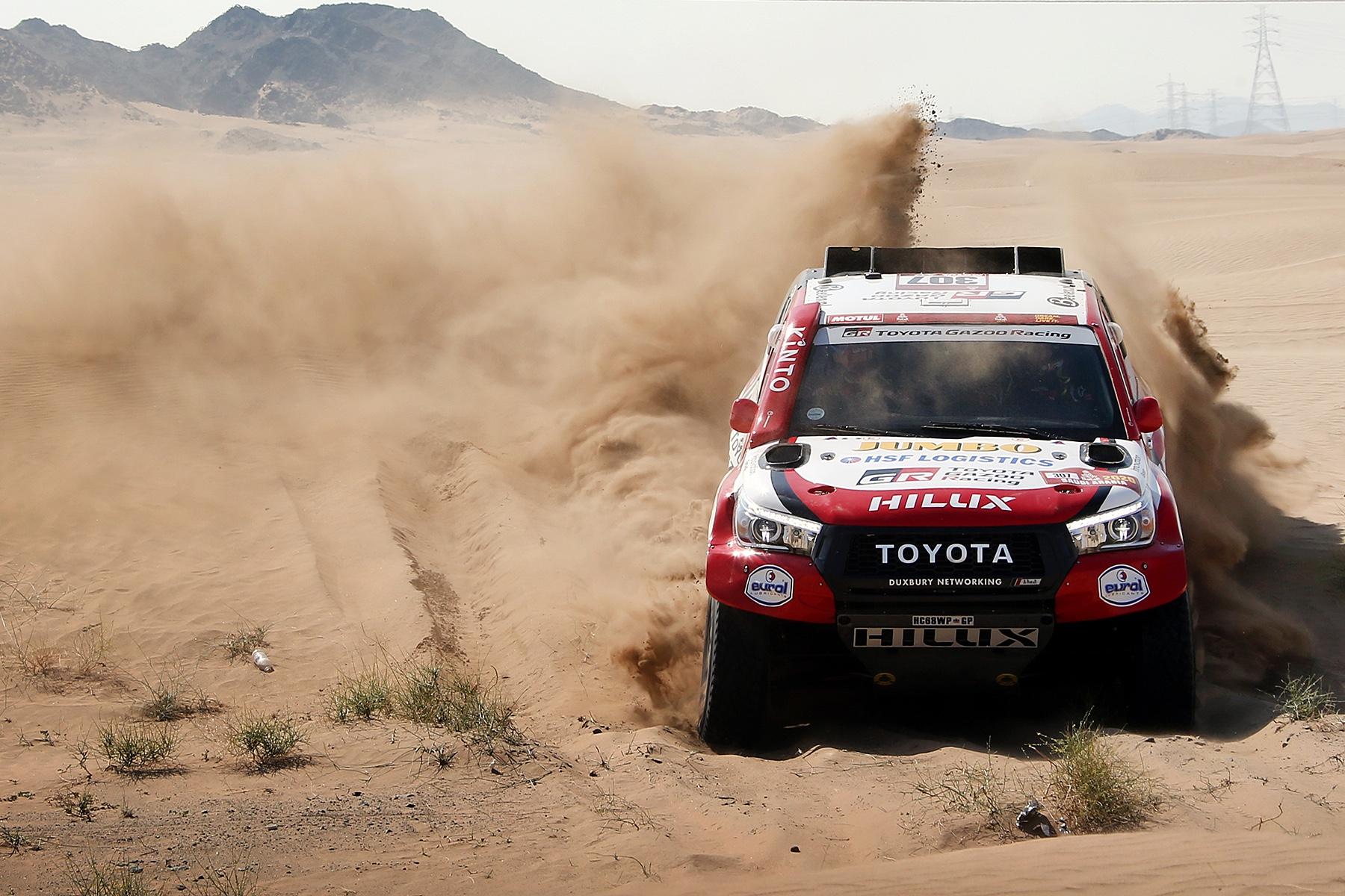 Bernhard ten Brinke opent vernieuwde Dakar Rally met puike vijfde plaats