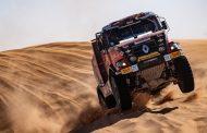 Mammoet rallysport beperkt de schade