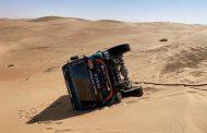 Etappe #11: ouderwets zware Dakar etappe voor Michiel Becx