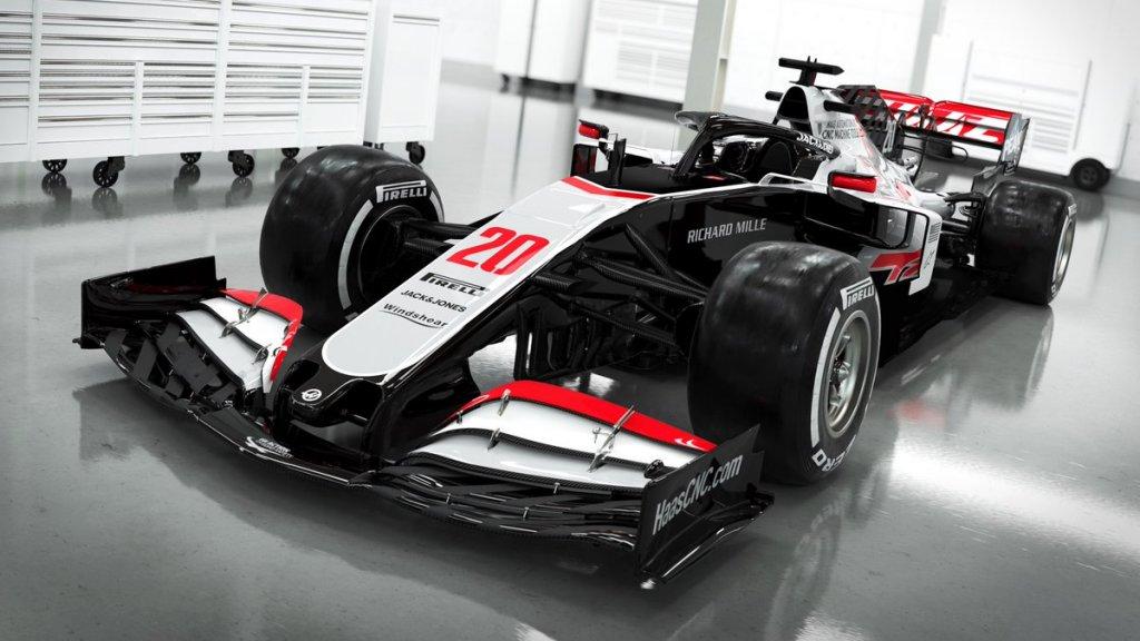 Het HAAS F1 team komt als eerste met hun nieuwe look voor 2020!