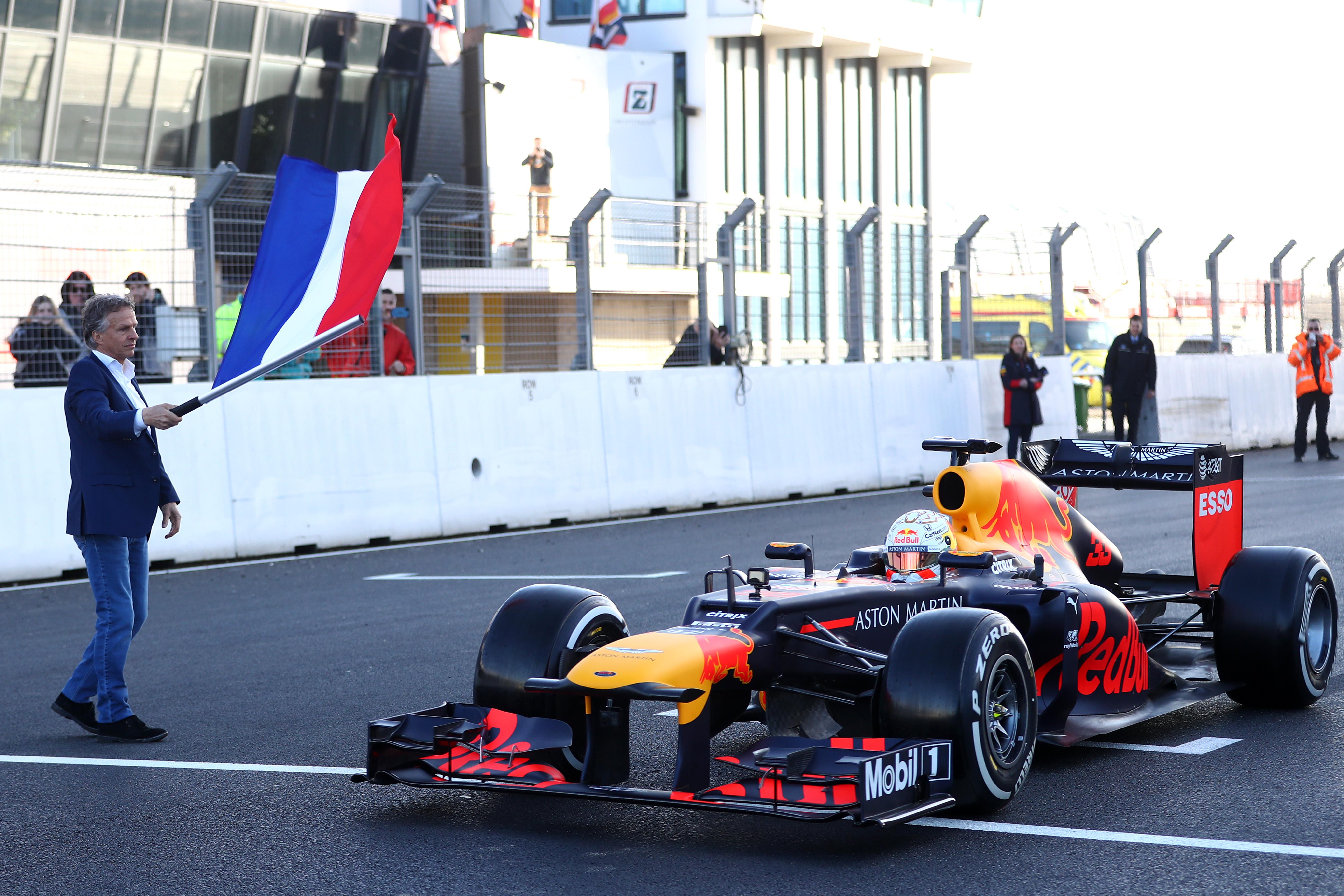 Officiële opening van circuit Zandvoort door Max Verstappen