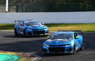 Thijmen Nabuurs met V8 Racing Camaro in GT4 European Series