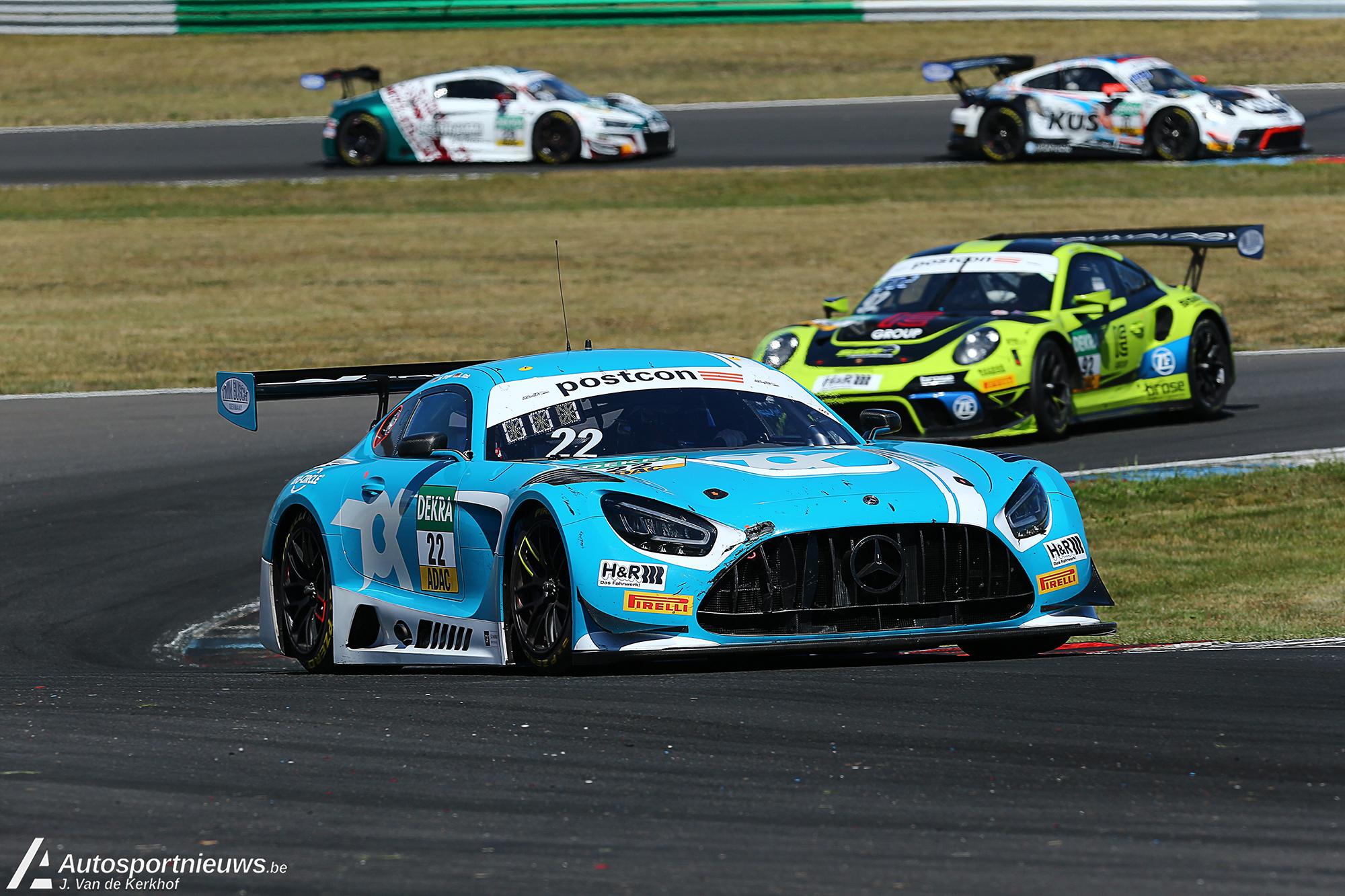 Spannende eerste race van het seizoen voor de ADAC GT Masters!