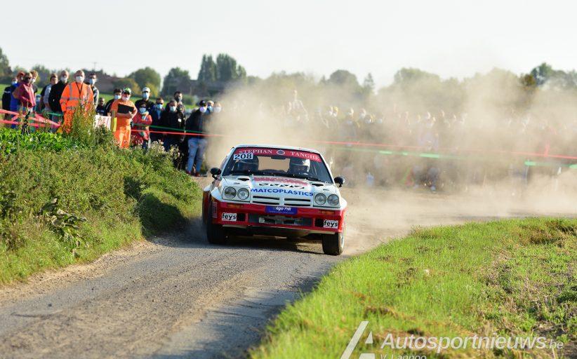 Paul Lietaer uiteraard favoriet bij de historics - Aarova Rally