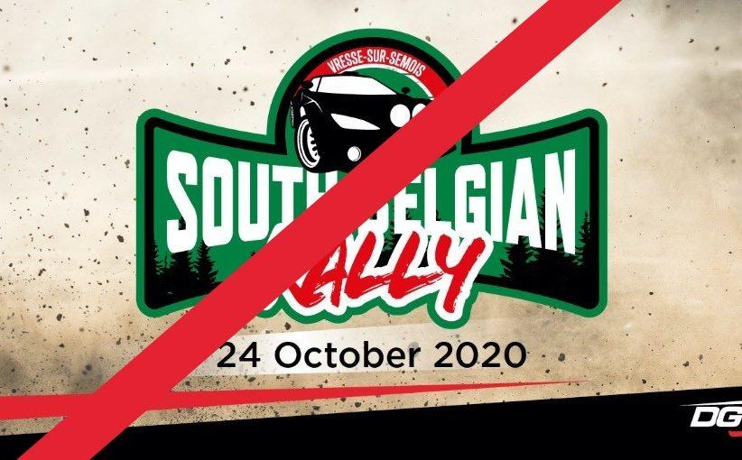 Dan toch geen South Belgian Rally ...