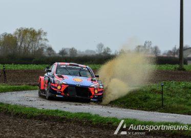 Test Ott Tanak – Hyundai i20 WRC – WRC Ypres Rally