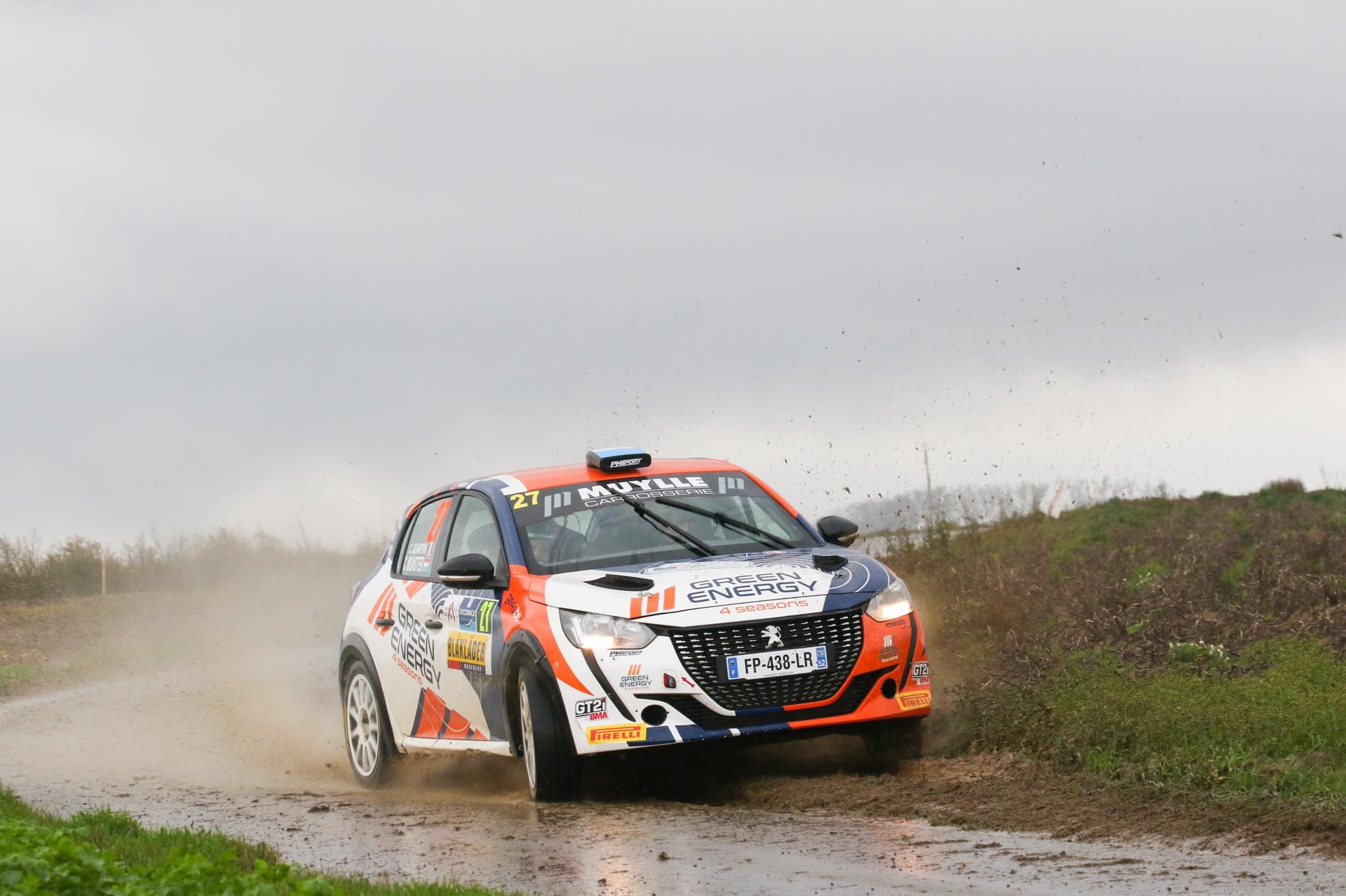 Charles Munster pakt eerste Junior zege in Aarova Rally