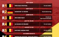 Kalender Belcar Endurance Championship 2021 beschikbaar!