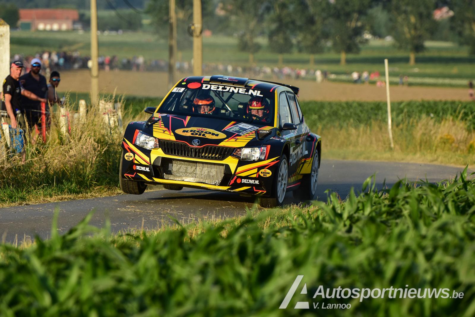 Kroon-Oil nieuwe naamsponsor van het Belgian Rally Championship!