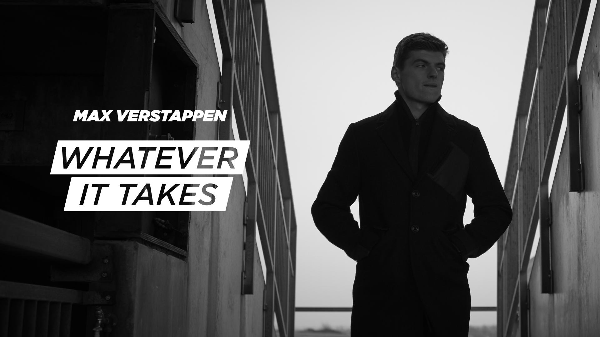 Docuserie 'Max Verstappen: Whatever It Takes' volgende week in première exclusief bij Ziggo