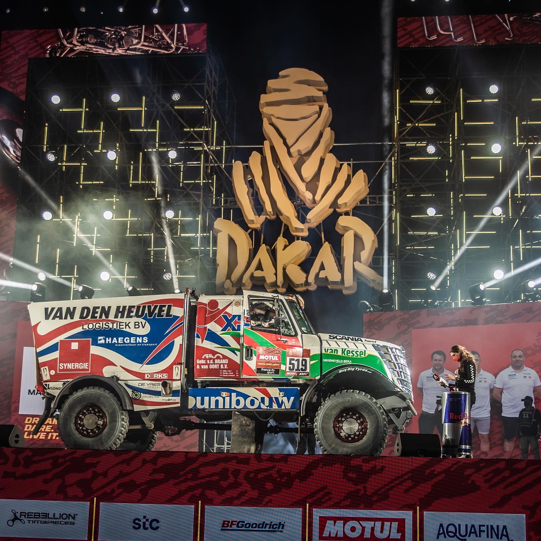 Eerste 622 km voor Team Dakarspeed in de Dakar Rally!