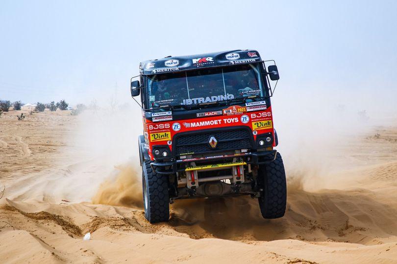 Mammoet Rallysport doet mee in dans om topklasseringen
