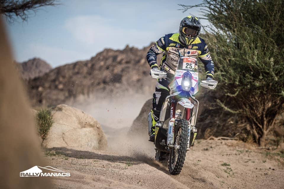 Paul Spierings haalt voor de derde keer de finish in de Dakar Rally