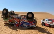 Dakarspeed door crash definitief uit de rally