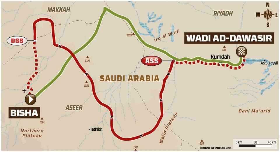 Etappe 2: Bisha – Wadi Ad-Dawasir