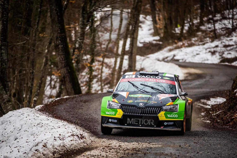 Top 5 voor Cédric De Cecco in WRC3 - Rally Monte-Carlo!
