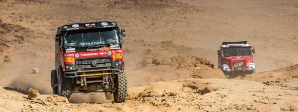 Mammoet Rallysport opnieuw constante factor in top tien