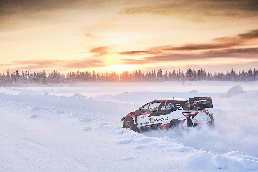 10 Proeven voor WRC Arctic Rally Finland en achter gesloten deuren!